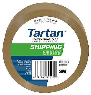 3M COMPANY 48mm x 50M Package-Sealing Tape 3710T