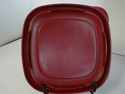 """Rubbermaid Replacement Red Burgundy blue square Easy find Lid Seals 4/"""" 6/"""" 8/"""""""