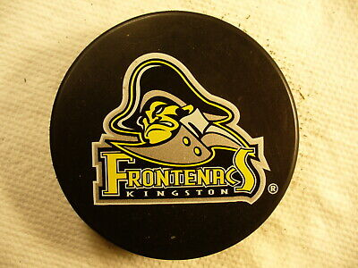 A Official Czechoslovakia Old Gem Hockey Puck Sporting London Knights Vintage Ohl Jr