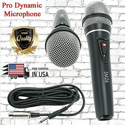 SM26 Uni-Direction Wired Dynamic Recording Stage Professional Studio Microphone