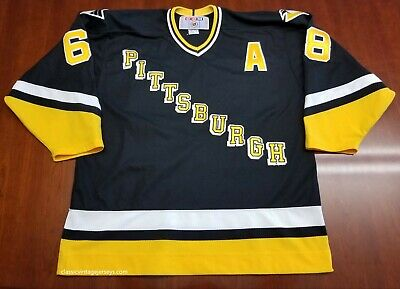 premium selection f7603 5e1f3 ALEXEI KOVALEV VINTAGE Pittsburgh Penguins CCM NHL Jersey ...