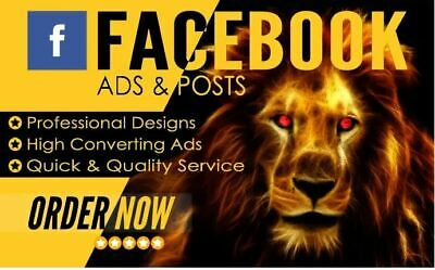 I Will Design 5 Facebook Ads Images That Convert