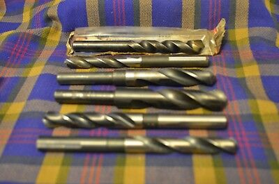 Group of Vintage Drill Bits from Machinist's Tool Box