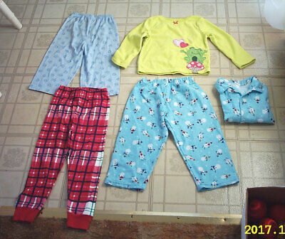 811eb483b Lot of Little Girls Clothes Clothing - Gymboree PJs Carters - Size 3 3T
