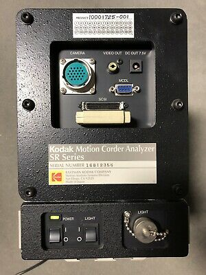 Kodak Motion Corder Analyzer Model Sr-500