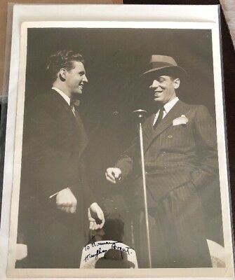 Humphrey Bogart Inscribed Signed Vintage 8X10 Photo Auto Autograph Psa/Dna