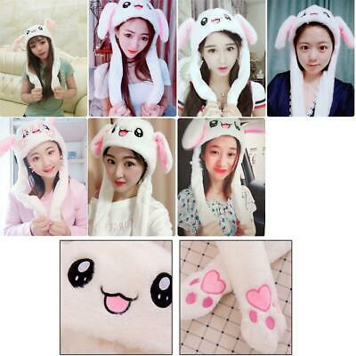 70c9a54d Fashion Cute Rabbit Hat Ear Will Move When You Hold The Leg Funny Plush Hat  Toy