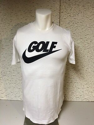 f8e2d845 NEW Nike Golf Clash Lockup Big Swoosh Graphic Tee 811266 100 Sz S FREE SHIP