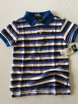 2 2t BOYS POLO SHIRT LOGO RALPH LAUREN RETAIL $35.00 NEW WITH TAGS