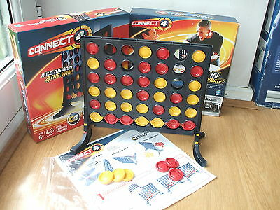 Connect 4 Rule The Grid Hasbro Board Game 100% Complete Party Family Fun 4 All