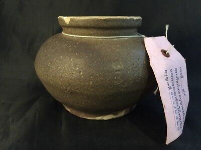 Sung Dynasty Chinese Part Glazed Pottery Vessels Chinese Script Tags Thai Ship