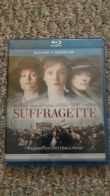 suffragette blue ray + digital HD, brand new, never opened