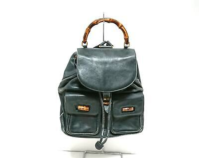 0ce30cc1aad GUCCI 003 · 1705 · 0030 Bamboo Rucksack Backpack Patent leather ...