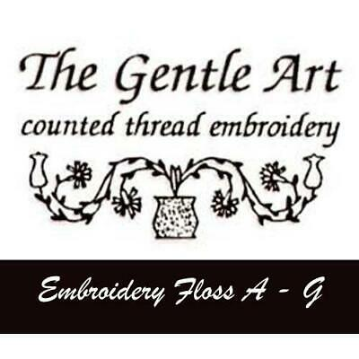 The Gentle Art Cotton Embroidery Thread Floss A - G