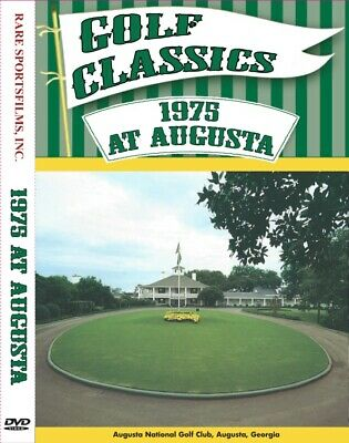 1975 Masters Tournament - Nicklaus, Wieskopf and Johnny Miller now on DVD!