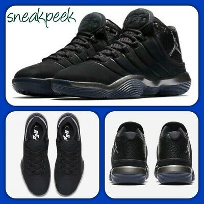5fb6f63b95929 Nike Air Jordan Super.fly 2017 Blackout 921203-010 9UK 44EUR mens trainers