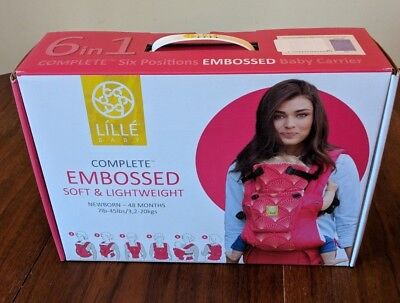 LÍLLÉbaby The COMPLETE Embossed Luxe SIX-Position 360° Ergonomic March of dimes