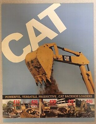 CATERPILLAR 416 SERIES II Backhoe Loader Dealer's Brochure
