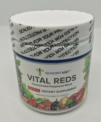 Gundry MD Vital Reds Concentrated Polyphenol Blend - 4oz (NEW) + FREE SHIP
