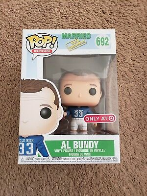 Funko Pop! AL BUNDY Football  Married With Children TARGET Only Exclusive #692