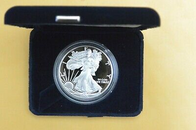2001-W 1 oz Proof Silver American Eagle (w/Box & COA) #6