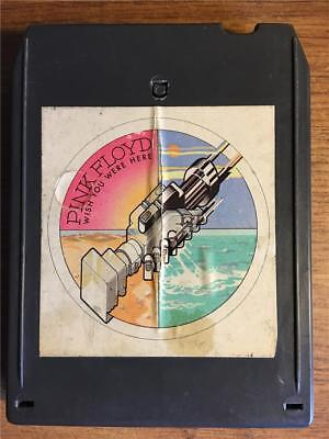 Pink Floyd Wish You Were Here Rare 8 Track Tape Tested Late Nite Bargain!
