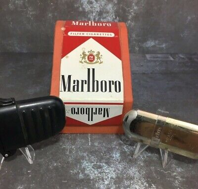 Marlboro Brass No 6 Lighter, Racing Watch + BONUS