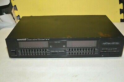 Kenwood GE - 76 9 Band Stereo Graphic Equalizer