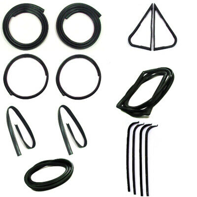 Door Seal Window Sweeps Channel Kit for 67-70 Ford Truck