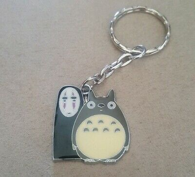 My Neighbour Totoro And No Face Spirited Away Keychain Japanese Anime Movie