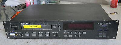 Denon dn-c635 cd player with fader control. (faulty