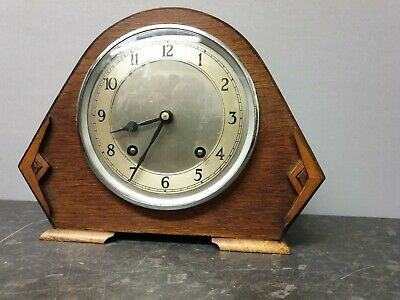 Vintage Garrard 8 Day Mantle Clock with Strike