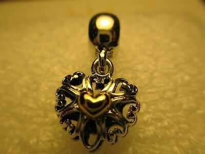 Authentic Pandora Filled with Love Dangle Sterling Silver Charm 791274