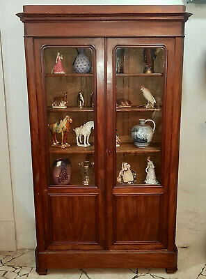 Louis Philippe French Mahogany Bookcase From 1850-60