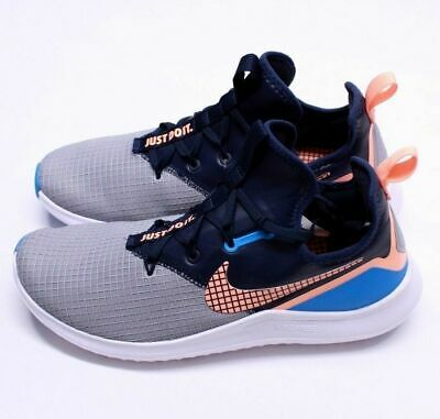 online store 91ccc a5e7b Womens 10.5 Nike Free Tr 8 Neo Training   Running Shoes Aj7681 008 Grey  Orange