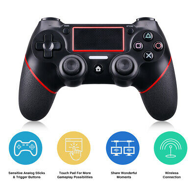 Wireless Bluetooth Gamepad Controller per Dualshock4 Ps4 Sony Playstation 4