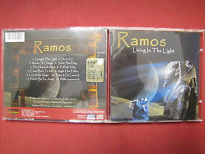 Ramos  Living In The Light  CD 2003 Frontiers Records AOR TOPPP!!!