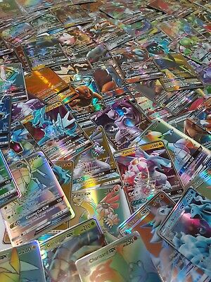Lot De 9 Cartes Pokemon Gx/ Lot Of 9 Gx Pokemon Cards/ 9 Pcs