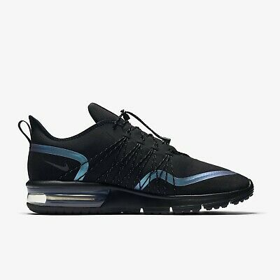 f6bd00ee7f079 [Nike] AV3236-005 Air Max Sequent 4 Shield Men Running Shoes Sneakers Black