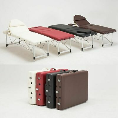 Lightweight Portable Massage Table Beauty Tattoo Couch Salon Therapy Bed w/ Bag