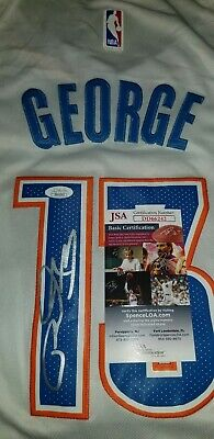 uk availability 197f1 c6a82 PAUL GEORGE SIGNED Autographed Photo 8X10 Indiana Pacers ...