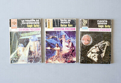 1978-1984 Star Wars vintage spanish bootleg knockoff book novel - set of 3