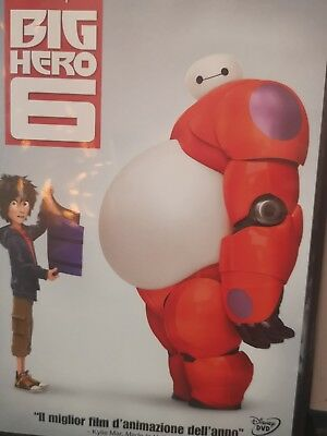 Dvd Disney **BIG HERO 6** come nuovo 2014 ita.