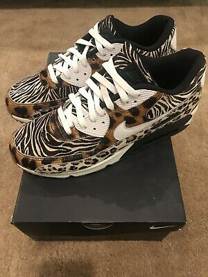 1222af4212 Nike Air Max 90 ID Size 11 Animal Atmos Cement Pink Powerwall BRS