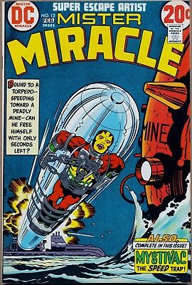 Mister Miracle #12 Jack Kirby Bronze Age HIGH GRADE NM 9.4 HOT