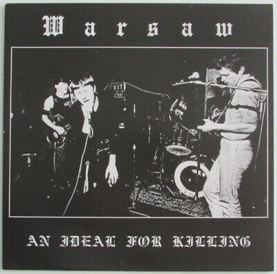 JOY DIVISION • WARSAW - An Ideal For Killing LP • Reissue with insert. NM/NM