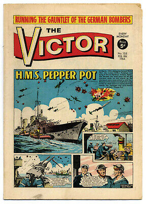 The Victor 155 (Feb 8, 1964) very high grade copy