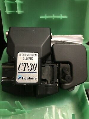 Fujikura CT-30 High Precision Ribbon Fiber Cleaver Used