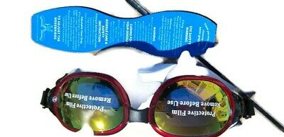 db8845a4ed4 SWIMMING GOGGLES—VETOKY MIRRORED Swim Goggle Anti Fog UV Protection ...