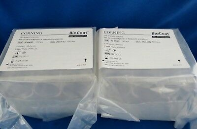 10 Plates Biocoat Collagen 6 Well Cell Culture Clear Plates & Lids  # 354400